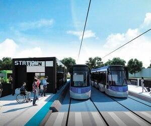 Le tramway sera une composante du Réseau de transport structurant de Québec.