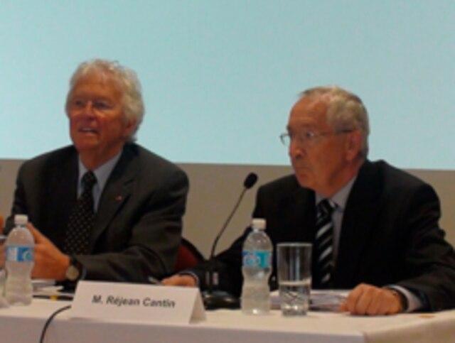 ? En tant que président de Neurocité, l'ancien maire de Québec Jean-Paul L'Allier a entériné un contrat de 96 000$ au cabinet Langlois, Kronström Desjardins où il travaille comme conseiller stratégique.