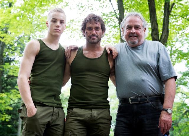 Antoine Desrochers,  Guillaume Lemay-Thivierge et Raymond Bouchard