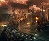L'histoire du film sert de prétexte à enchaîner les scènes de destruction.