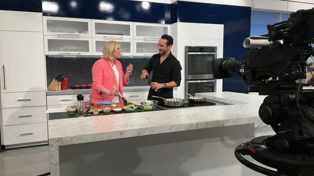 Crevettes grillées et sauce aigre-douce