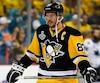 Sidney Crosby profite des entraînements optionnels pour travailler sur de petits aspects techniques de son jeu.