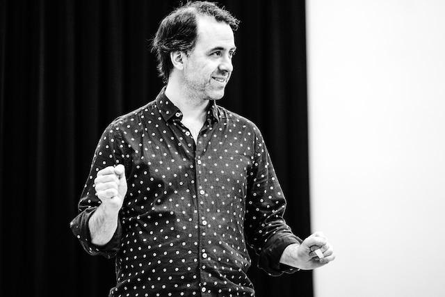 Le metteur en scène Jean-Philippe Joubert.