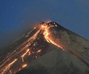 Guatemala's Fuego volcano increases activity