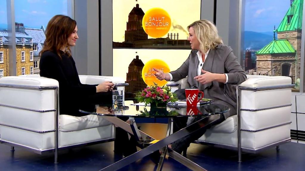 Entrevue avec la polyvalente Geneviève Pettersen