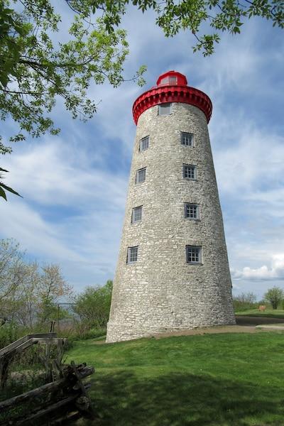 Près du fort Wellington se dresse le moulin à vent.