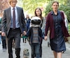 Owen Wilson, Jacob Tremblay, Izabela Vidovic et Julia Roberts dans une scène du film <i>Merveilleux</i>.
