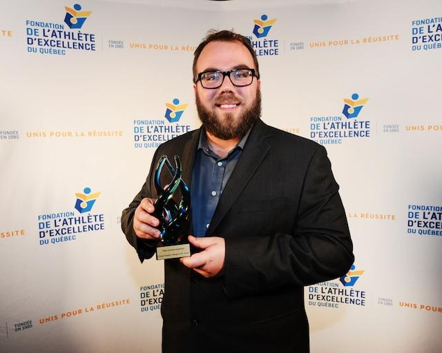 Entraineur de l'année volet masculin -  Félix-Antoine Lapointe - Cross-country Rouge et Or de l'Université Laval
