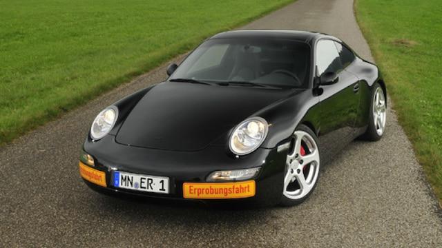 La eRuf Model A est une voiture 100% électrique construite à partir d'une Porsche 911.