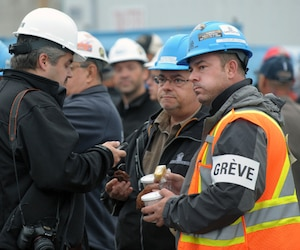 Grève industrie construction