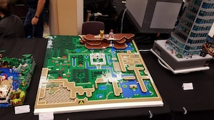 Image principale de l'article Voyez la carte reconstruite en blocs Lego