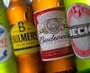 Des bières du groupe AB InBev.