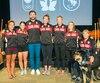 Les équipes olympique et paralympique de canoë-kayak: Émilie Fournel, Andréanne Langlois, Mark Oldershaw, KC Fraser, Genevieve Orton, Erica Scarff et Christine Gauthier.
