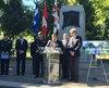 Le maire de Montréal, Denis Coderre, a fait l'annonce de la future nouvelle place de Vimy, dans le parc Notre-Dame-de-Grâce, qui sera mise en place pour avril 2017.