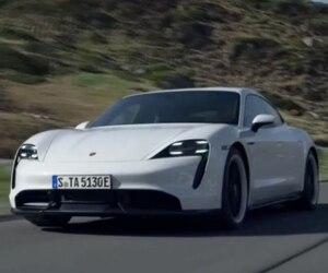 Image principale de l'article La Porsche Taycan, entièrement électrique