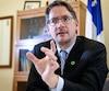 Le critique du Parti québécois en environnement, Sylvain Gaudreault