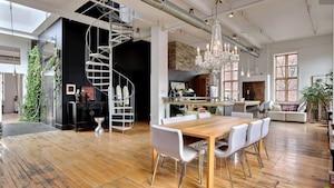 Un penthouse industriel unique à vendre 1 695 000$