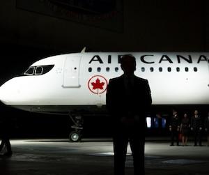 Bloc avion Air Canada