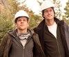 Jesse Eisenberg et Alexander Skarsgård dans une scène de The Hummingbird Project, le prochain film du cinéaste québécois Kim Nguyen (Rebelle, Un ours et deux amants).
