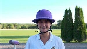Image principale de l'article Elle veut être joueuse de polo professionnelle
