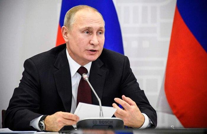 <b>Vladimir Poutine</b><br /><i>Président russe</i>