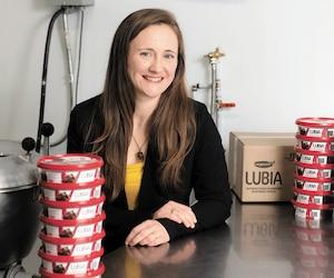 Marie-Hélène Le Rossignol, mère et professionnelle, heureuse dans son nouveau rôle d'entrepreneure.
