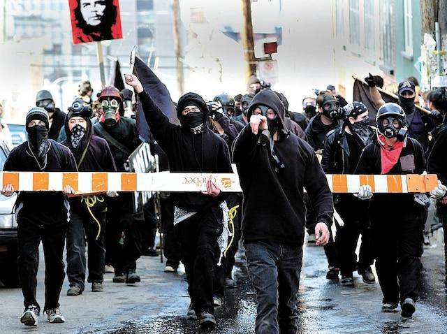 Des manifestants pourraient être prêts à la confrontation et être armés de projectiles plus sophistiqués que lors du Sommet des Amériques, à Québec, en 2001.