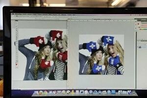 Soeurs Dufour-Lapointe Photoshop