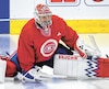 Charlie Lindgren estime avoir sa place dans la Ligue nationale.
