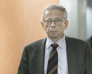 L'accusé Sami Bebawi au palais de justice de Montréal le 14 novembre dernier.