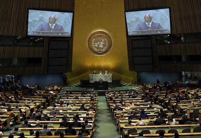 ONU Nations unies