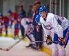 Michael McCarron lors du camp de perfectionnement du Club de hockey Canadien (LNH) au Complexe sportif Bell, à Brossard près de Montréal en ce dimanche 5 juillet 2015.