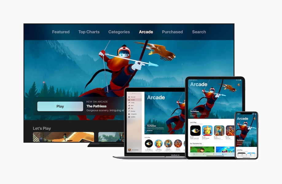 Image principale de l'article Apple annonce un service payant de gaming