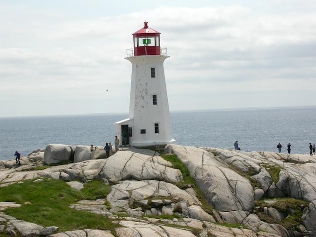 Le phare Peggy's Cove