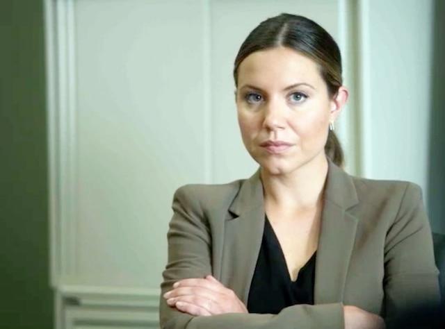 Magalie Lépine-Blondeau dans District 31. COURTOISIE