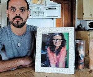 Éric Boudreault, le père de Daphné Huard-Boudreault, qu'on voit ici en 2017, était dévasté par la nouvelle lundi, selon son avocat Marc Bellemare.