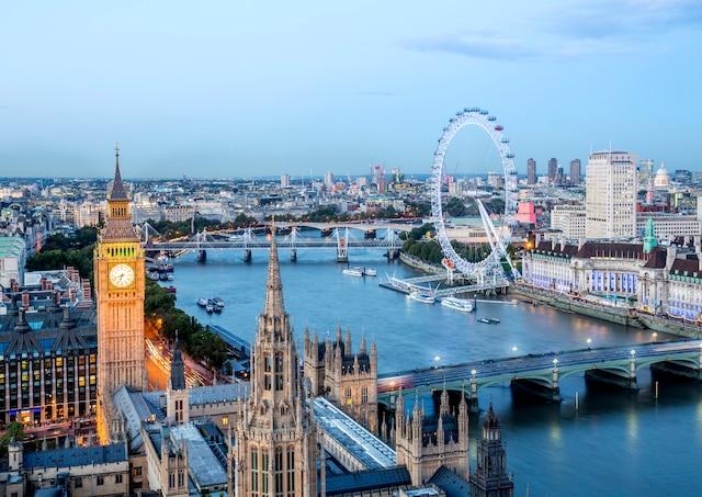 Vue sur Londres.