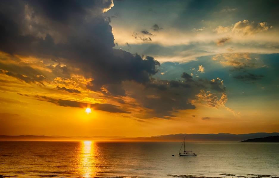 C 39 est kamouraska qu 39 on admire le plus beau coucher de soleil au canada jdq - Photos coucher de soleil ...