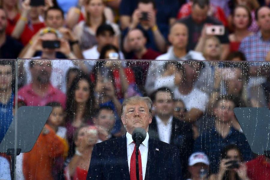 Image principale de l'article Donald Trump parle des «aéroports de 1775»