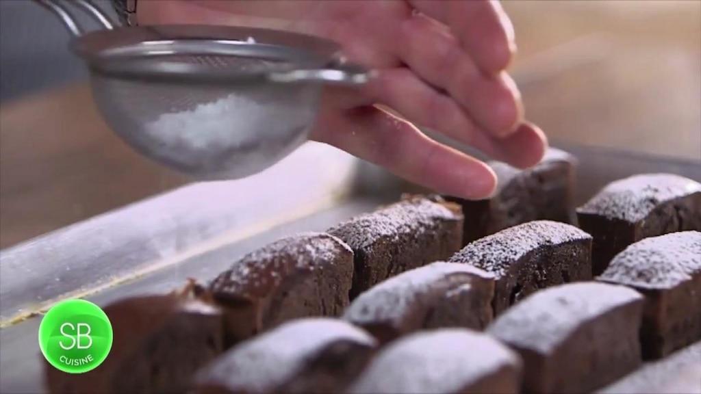 Gâteaux banane et chocolat