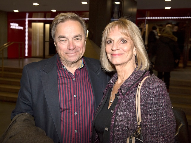 François Léveillé et son accompagnatrice