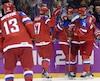 L'équipe nationale russe de hockey pourrait être forcée de jouer avec un chandail totalement neutre.