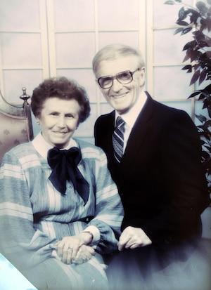 Éva Saindon et Conrad Morin étaient mariés depuis 68 ans.