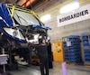 Train Bombardier usine