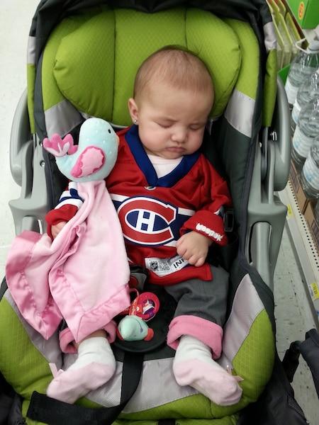 Kate Dupont corsoletti ,3 mois, rêve à la Coupe