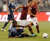Patrice Bernier était membre de l'équipe d'étoile de la MLS qui a affronté l'AS Roma en 2013.