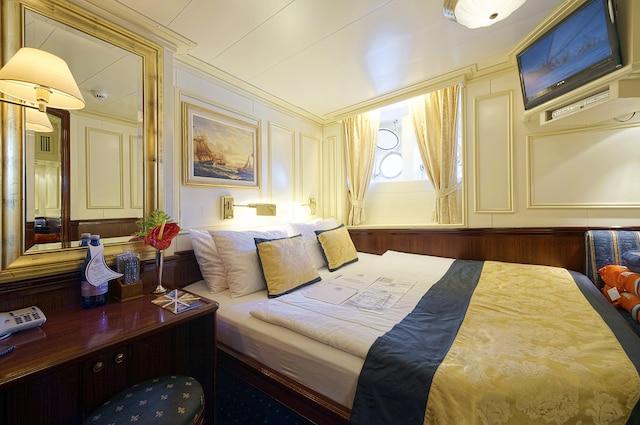 Une cabine standard.