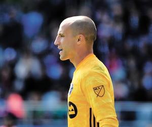 Très peu occupé au cours des deux matchs qu'il a disputés la semaine dernière, Evan Bush est surpris d'avoir obtenu le titre de joueur de la semaine dans la MLS.