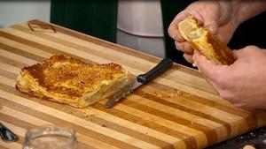 Image principale de l'article  Feuilleté de pommes et flocons d'érable