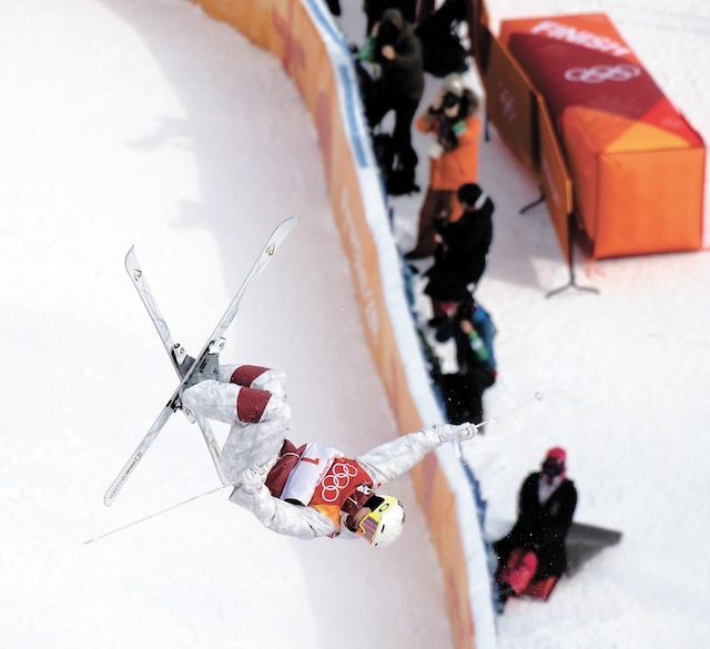C'est sans difficulté que Mikaël Kingsbury s'est qualifié pour la finale des bosses lors de la première journée des Jeux de Pyeongchang.